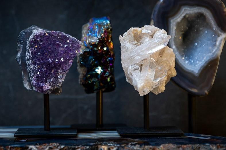kristallen op voet categorie