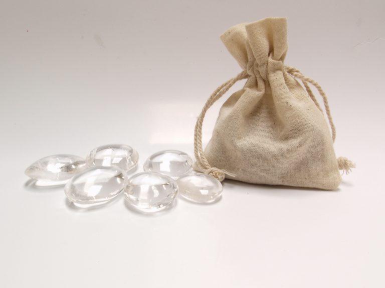 bergkristal knuffelstenen