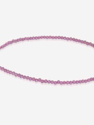 Armband Roze chalcedoon 2mm